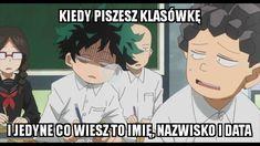 Read from the story Boku no Hero Academia MEMY Polish Memes, Anime Meme, Boku No Hero Academy, Wattpad, My Hero Academia, Humor, Comics, Reading, Funny
