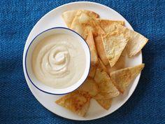 Get Yogurt-Hummus Dip Recipe from Food Network