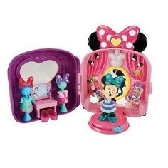 Amazon.com: Disney's Minnie Mouse Dress Up 'n Go Bow-Tique by Fisher-Price: Toys & Games
