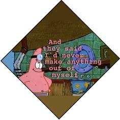 4 Years Later Spongebob Grad Cap | galleryhip.com - The Hippest ...
