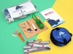 Be well pawpared for any emergency  Boltwell B7 Emergency Kit, $65 with the code Holidays2014 at BarkShop through the holiday season.