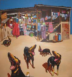 Giovani Verdesoto.- pintor ecuatoriano