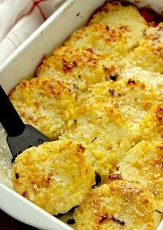 Δισκάκια με ρύζι και ανθότυρο, γκρατιναρισμένα με τυρί - Συνταγή i-Food.gr by Giorgio Spanakis