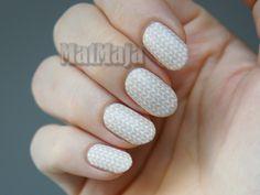Sweater nails https://matmajowe.blogspot.com/2016/11/sweater-nails.html
