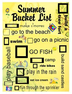 What you will do in this summer?