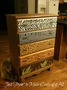Love this! Just Tryin' to Make Cents of it All: jungle dresser