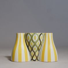 "Stig Lindberg ""Snurran"". Vase/Candle stick | Wigerdals Värld"