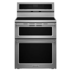 Shop KitchenAid YKFID500ESS 30-in 4-Element 6.7-cu ft Freestanding Induction Range at Lowe's Canada. Find our selection of ranges at the lowest price guaranteed with price match.