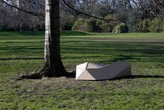 hwang kim:  mar 03, 2011  urban homeless cocoon Korean product designer and student of the royal college of art ...by distributing a folding portable urban shelter .... the project entitled 'cocoon' is made from pre-folded single ply cardboard with plastic buttons that can be reduced to a smaller, flattened . . . .  (Link but no price.)