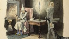 Charles Dickens' festive favourite, A Christmas Carol was first published in a single volume on 19 December Christmas Coffee, Christmas Past, A Christmas Story, Christmas Carol, United Church Of Christ, Great Artists, Find Art, Illustrators, Sketches