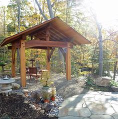Image from http://www.dytimberframing.com/timber-frame-gallery/Gazebo-for-sale/timber-gazebo-00.jpg.
