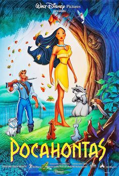 John Smith: Pocahontas, that tree is talking to me. Pocahontas: Then you should talk back. John Smith: What do you say to a tree? Pocahontas: Anything you want. Disney Pocahontas, Disney Pixar, Walt Disney Movies, Disney Movie Posters, Pixar Movies, Kid Movies, Cartoon Movies, Disney Animation, Disney Villains