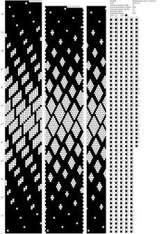 Рисуем схемы для жгутов из бисера, вышивки и др.'s photos – 539 photos | VK