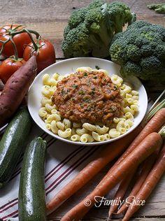 How to Get Kids to Eat Veggies: Kid Friendly Pasta Primavera by familyspice.com