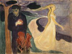 """Separation,"" Edvard Munch"