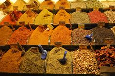 Get lost in a spice bazaar