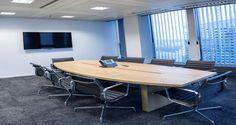 Sala de reuniões nos escritórios da Informatica em Paris, França