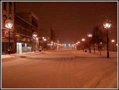 Downtown Barrie in Winter | by eraut, via Flickr