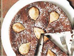Vláčný koláč s hruškami