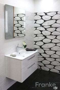 gewellte fliesen in einer marmoroptik gesehen bei unseren niederl ndischen partner tegel outlet. Black Bedroom Furniture Sets. Home Design Ideas