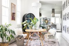Instead of buying everything you need for your new home brand new, consider scoping out thrift shops, garage sales, and online marketplaces first. New Orleans Homes, New Homes, Big Houses, Home Organization, Home Buying, Home Values, Apartment Therapy, Living Spaces, Sweet Home