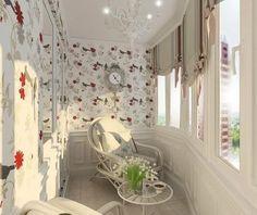 Уютный балкон - Дизайн интерьеров   Идеи вашего дома   Lodgers