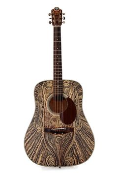 Custom Made Modified Acoustic Guitar