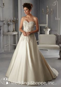 Blu by Mori Lee Bridal Gown 5269