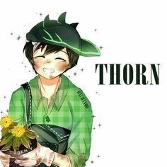 Day 6 - Thorn by on DeviantArt Anime Galaxy, Boboiboy Galaxy, Boboiboy Anime, Anime Art, Elemental Powers, Tola, Pokemon Comics, Short Comics, Pin Art