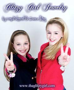 glitzy girls' Maddie and Chloe