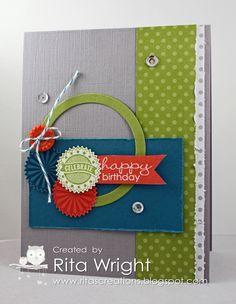 Rita's Creations: Stampin' Up! Starburst Sayings