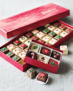 Shop Christmas Petits Fours, 36 Count at Horchow, where you'll find new lower shipping on hundreds of home furnishings and gifts. Christmas Gifts To Make, Christmas Shopping, All Things Christmas, Christmas Time, Christmas Boxes, White Christmas, Xmas, Christmas Cooking, Christmas Desserts