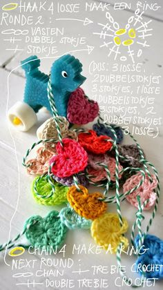 Free hearts pattern with chart by ingthings