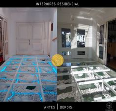 Interiores Residencial   Antes e Depois