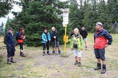 Náhodné setkání s karvinskými turisty na vrcholu