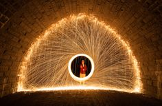 Steel Wool Long Exposure - Stone Bridge | Flickr - Photo Sharing!