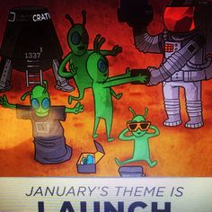 @Loot Crate theme for January is so exciting!