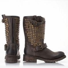 Biker boots by olive
