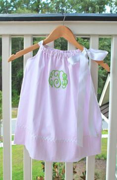 Silly Lilly Kids  Pillowcase Dress  Pink and by SillyLillyKids, $28.00