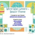 Check out these super cute word wall letters in a beach/ocean theme.  More beach decorations to come soon!...