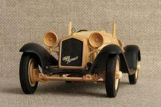 Деревянные модели автомобилей от Алексея Сафонова (9 фото)