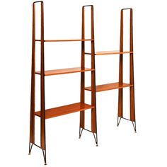 italian post war bookcase in the manner of ico parisi mid century modern