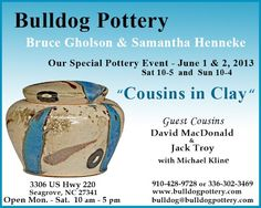 Bulldog Pottery, North Carolina