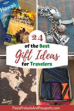 Looking for the best travel gifts in 2020? If you know someone who suffers from Wanderlust, this is a list of the 24 gifts that travelers love best! Everything from books, essentials, jewelry, gadgets and electronics, we have a gift idea for traveling women, men, and families. Hiking With Kids, Travel With Kids, Family Travel, Best Travel Gifts, Best Gifts, Travel Essentials List, Best Hiking Gear, Subscription Gifts, Family Adventure