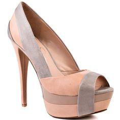 Jessica Simpson Blush Peep Toes.