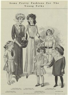 Some pretty fashions for the young folks. (1911)