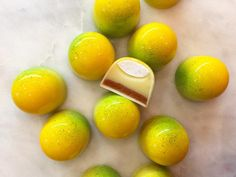 Cute chocolate bonbons by Valrhona Cercle V member Stick With Me Sweets!
