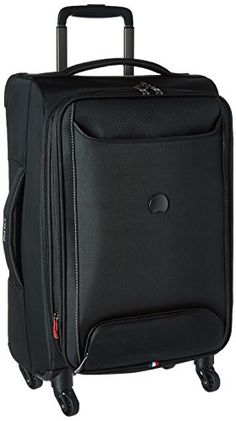 Delsey Luggage Chatillon 21 Inch CarryOn Expandable Trolley Black *** You can find out more details at the link of the image.