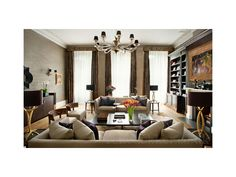 Kensington Mansion Flat Living Room  #luxuryinteriors #interiordesign  www.renedekker.co.uk