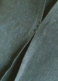 detail on linen | by Yorktown Road | Carol Gilbert